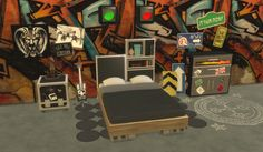 """leanderbelgraves: """" Rock'n Roll Set DOWNLOAD a Sims 3 to Sims 4 Conversion plus…"""