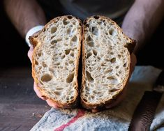 Sourdough Bread Recipe With Yeast.Recipe For Rustic Sourdough Bread With Fresh Yeast . First Leaven Sourdough Recipe On Bread Alone. Real Food Recipes, Cooking Recipes, Loaf Recipes, Fermented Foods, Artisan Bread, How To Make Bread, Healthy Baking, Bread Baking, Sourdough Recipes Starter