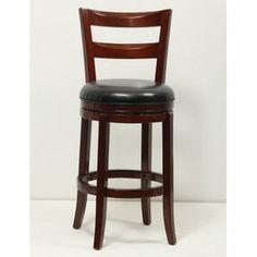 Mochi Furniture Swartz 29'' Swivel Bar Stool with Cusion