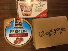 Free #Quaker Instant Oatmeal Protein  Cranberry Almond    #freestuff #freebies #samples #free