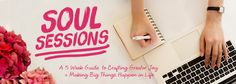 Soul Sessions book by Dr. Danielle Dowling...a helpful guide to positive thinking.