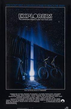 Explorers Movie Poster - Great Movie !