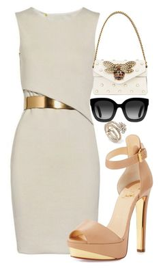 """Untitled #293"" by streetstyle21 on Polyvore featuring Gucci and Christian Louboutin"