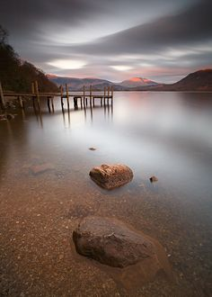 Last Evening Light on Derwent Water, Lake District