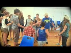 """In this teambuilding game the entire team must cross over the top of the """"electric fence"""".  The complete lead-it-yourself instructions for this teambuilding game are included in the free 30 page e-book entitled """"Teambuilding Games on a Shoestring"""".  This e-book contains 7 fun teambuilding games you can lead with two normal shoestrings. Download ..."""