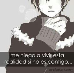 Frases anime C Anime, Anime Comics, Anime Love, Kawaii Anime, Spanish Phrases, Shinigami, Anime Style, Horror Stories, Memes