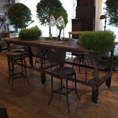Table desk or kitchen island from belgian age unknown perfect