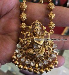 Krishna Pendant with Balls Chain - Jewellery Designs