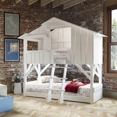 Give your child the ultimate unusual children's bed but don't be surprised when he or she is showered with sleepover requests!