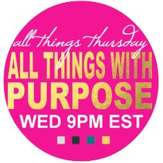 All Things Thursday Link-Up Party {No. 62}