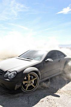 fullthrottleauto: Mercedes-Benz CLK63 AMG Black Series. (by...