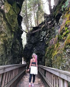 This Ontario Park Full Of Ancient Caves, Cliffs And Waterfalls Is The Coolest Place To Explore - Narcity Ontario Parks, Ontario Travel, Caves, Cliff, Waterfalls, The Good Place, Toronto, Places To Go, Touch