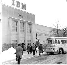 IBM Kingston-Poughkeepsie shuttle, 1972