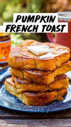 Brunch Recipes, Breakfast Recipes, Dinner Recipes, Pumpkin Recipes, Pumpkin Foods, Whole Food Recipes, Cooking Recipes, Camping Menu, Pumpkin French Toast