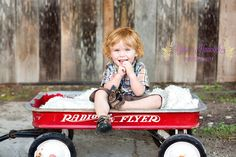 2 year old boy photography, 2 year old portraits, wagon prop