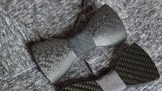 Contour Tie - Carbon Cravat