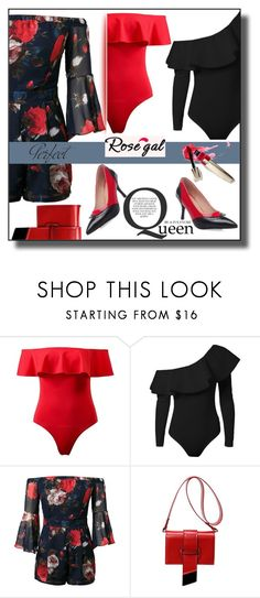 """""""Rosegal"""" by selly111528 ❤ liked on Polyvore featuring Tag"""