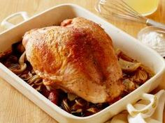 Roast Turkey Breast with Gravy Recipe . Rather than dealing with an entire bird, try this Roast Turkey Breast with Gravy recipe from Food Network Kitchen Thanksgiving Turkey, Thanksgiving Recipes, Holiday Recipes, Dinner Recipes, Christmas Recipes, Fall Recipes, Christmas Stuff, Christmas Diy, Turkey Recipes