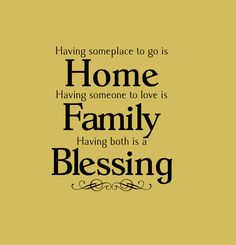 Home Family Blessing Vinyl Wall Decal by InitialYou on Etsy, $19.95