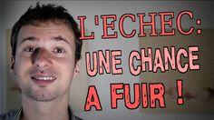 Pourquoi l'ÉCHEC est une CHANCE qu'il faut FUIR ! #echec #fuir : https://www.youtube.com/watch?v=cBhM9wzAZ4w ;)
