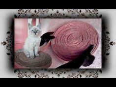 DIY  Kratz Karton für Katzen   Cat Scratcher - YouTube