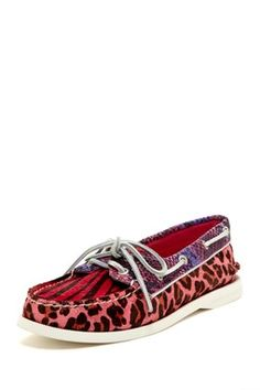 HauteLook | Sperry Top-Sider Women: Sperry Top-Sider A-O Pony Hair Animal Print Boat Shoe