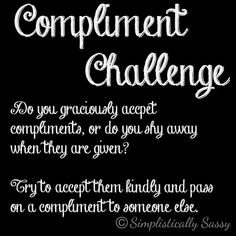 Accepting Compliments