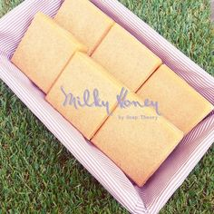 Handcrafted soaps from Bangkok, Thailand.
