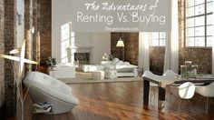5 Advantages of Renting Home Rather than Buying. Should you buy or rent? Take a look at these tips to discover why renting could be a better option.  #renting #buying #home #apartment