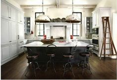 Black Kitchen Island To Get a Different Touch Of Kitchen Island