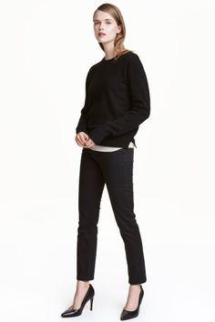 Straight Regular Jeans - Черный/Стирка Stay black  - Женщины | H&M RU
