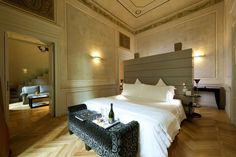 hoteles siete estrellas Town-House-Galleria-Milan habitacion