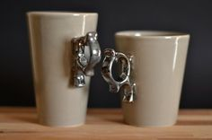 set of 2 cups DOVE