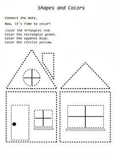 rectangle worksheet robot preschool. Black Bedroom Furniture Sets. Home Design Ideas