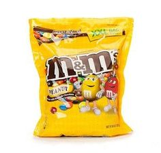It's no surprise to many chocolate candy aficionados that peanut and chocolate are like a match made in heaven. Based off of the original 1941 milk chocolate variant, M&M's Peanut Bag contains the sam
