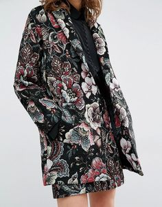 Image 3 of Essentiel Antwerp Mafalda Tapestry Coat