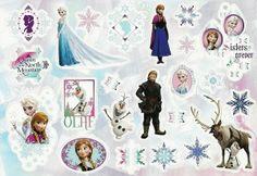 Disney Frozen scrapbook sticker sheet www.scrappingthemagic.co.uk