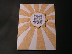 Stampin' Kat: Here Comes the Sun!!