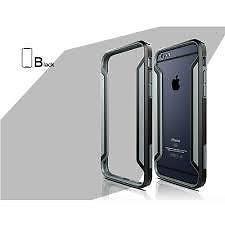 Funda Armor Bumper iPhone 6/6S Plus Nillkin Border Negro