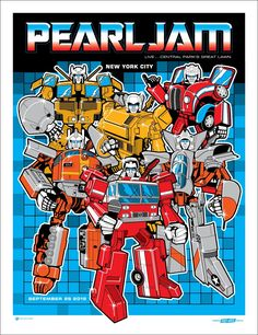 Ames Bros Pearl Jam New York Poster...wish i had this one, but i was there and it was epic.