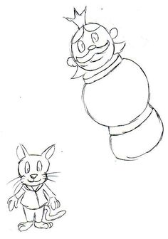 Timothy Tin Soldier Concept Characters by Toonamp.deviantart.com on @deviantART Some concept characters from Timothy Tin Soldier.  Hay Dittle Dittle the Cat with the Fiddle and Old King Coal.