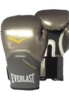 434890102 Luva de Boxe Everlast Pro Style Elite Prata