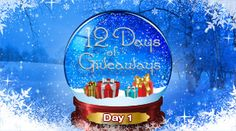 Win Ellen's 12 Days of Giveaways!  Hoping you'll see me this year, happy holidays