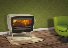 Fireplace Products Presents - Dovre Vintage 50 Wood Stove. These retro looking wood stoves are available in 3 different size outputs with either anthracite or white enamel finishes and have a choice of standard legs or a tablet stand. This image is of the Dovre Vintage 50 Wood Stove - White Enamel with standard legs. Available for sale from fireplaceproducts.co.uk don't forget to mention that you found us on Pintrest to receive an extra discount!