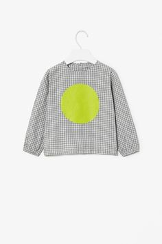 Gingham Dot print top.  @Susan Caron Caron Seward @Kimberly Peterson 'Heath' McNally Alavi