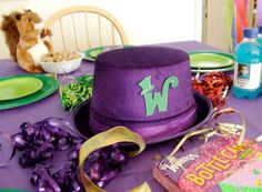willy wonka party centerpieces