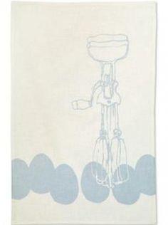 Eggbeater Tea Towel