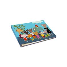 OUT OF STOCK Coup de cœur pour l'album photo illustré par Mini labo. Sur la couverture : des animaux endimanchés bien alignés pour la photo de classe #backtoschool #bonjourbibiche