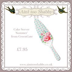 Cake Server by Greengate  <3