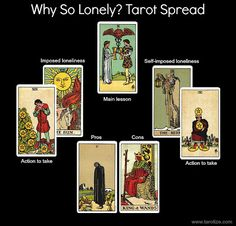"""The """"Why So Lonely?"""" Tarot Spread 